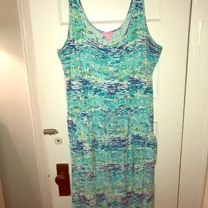 Lilly Pulitzer Drawstring Tank Dress